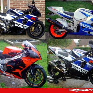 my 1000k3,600k1 and rsv1000r all great bikes...